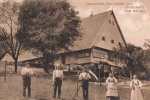 Hasenhof Wolfach Elmlisberg Postkarte