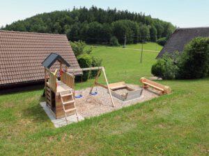Spielplatz Ferienwohnung Kinder